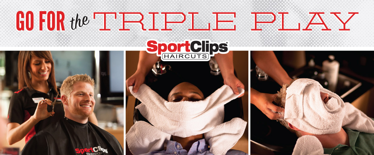 The Sport Clips Haircuts of North Hampton  Triple Play